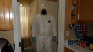 Inspector Prepped For Protection Environmental Services